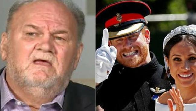 Thomas Markle just wants to be treated like the Middleton family was — inclusively. Picture: Supplied