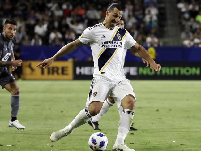 Ibrahimovic has been outstanding for the Galaxy.