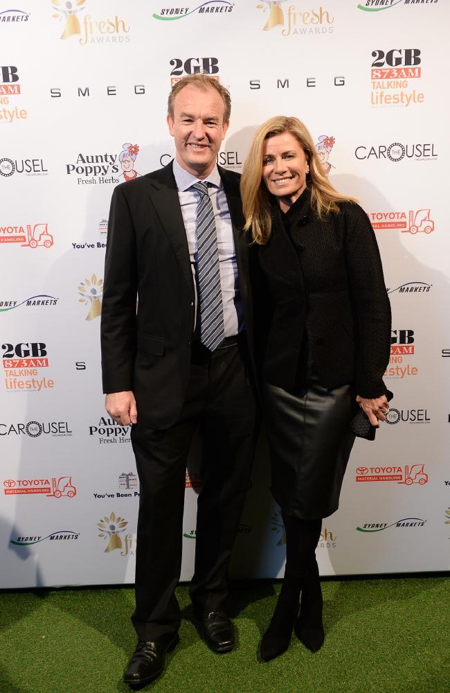 Rob Dalhunty and Deborah Hutton in 2017.