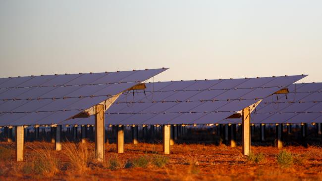 Australia's largest solar farm is set to be built in the Somerset region.