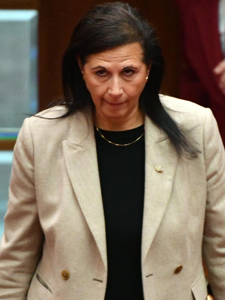 Minister for International Development Concetta Fierravanti-Wells expressed her disapproval of Mr Turnbull's leadership in a strongly worded letter.