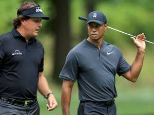Tiger, Phil set for big-money, one-on-one showdown