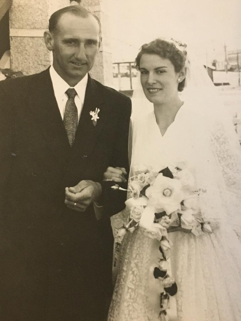 Len and Marlene Faulkner (nee Hunt) were married in Yeppoon on August 23, 1958.