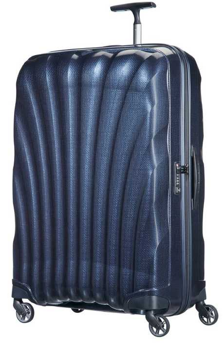 Reliable luggage is a must Mitchell Guillot. He travels with Samsonite hard cases.