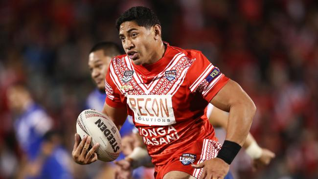 Jason Taumololo has hailed Kangaroos players for taking pay cut to play Tonga.