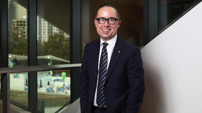 Qantas CEO Alan Joyce. Picture: Hollie Adams/The Australian