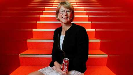 Coca-Cola Amatil CEO Alison Watkins reckons the Kiwis know how to sell a can of full fat Coke better than Australians do. Picture: Hollie Adams