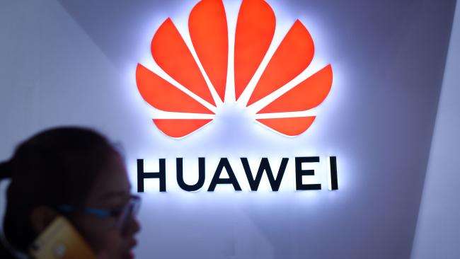 Huawei banned from Australian 5G network. Picture: WANG Zhao