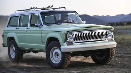 The Wagoneer Roadtrip keeps the bench seats but adds off-road credentials and a 5.7-litre V8.