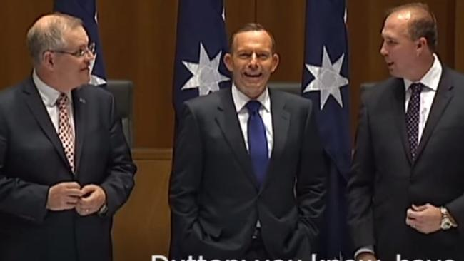 Whoops! Peter Dutton was caught out joking about rising sea levels swamping Pacific nations.