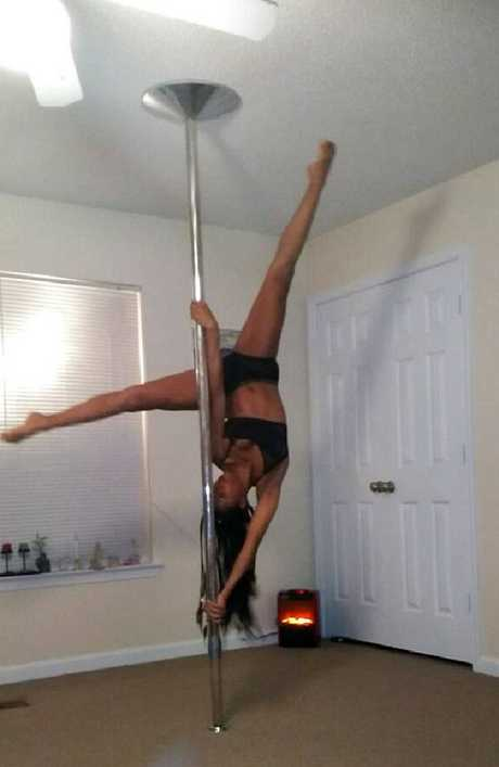 The pole dance instructor was booted from her job.