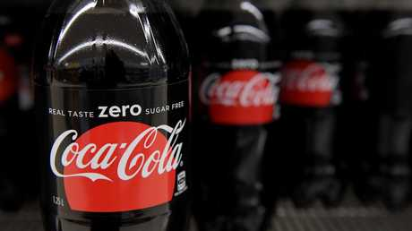 The company has set a sell-by date for the last Coke Zero. Picture: AAP Image/Tracey Nearmy