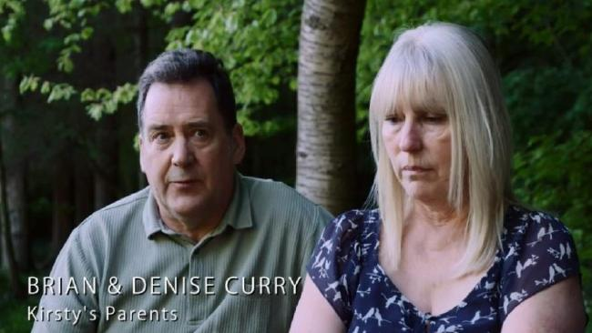 Parents Brian and Denise also appealed for information in the emotional Killed Abroad episode. Picture: BBC