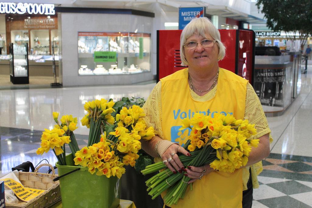 Cancer Council Queensland volunteer Margaret Walford