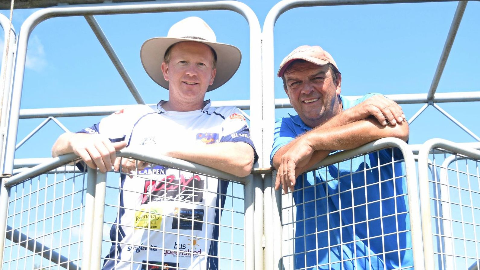 FAST LANE Lockyer Race Club organisers Steve Brennan (left) and Terry Kirkwood put in many hours behind the scenes for the club.