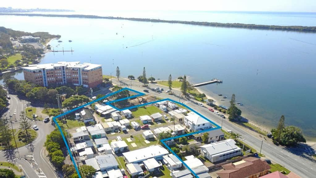 The Military Jetty Caravan Park at Golden Beach has been bought for $5.2  million.