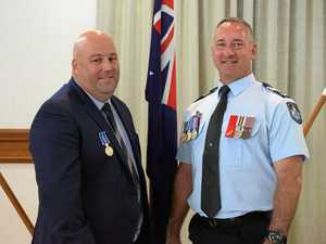 Gladstone's dedicated police officers awarded