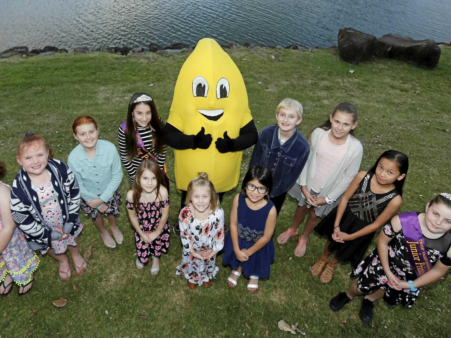 Banana Festival 2018 Junior Princess and Senior Princess contestants get ready for the coming judging sessions.