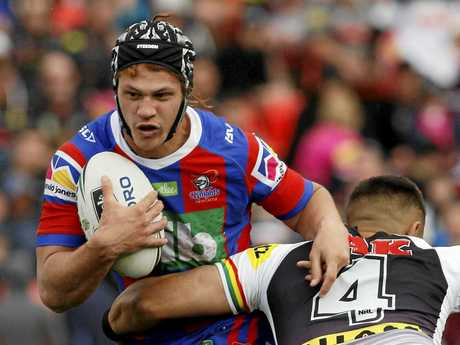 Kalyn Ponga was a standout for the Knights.