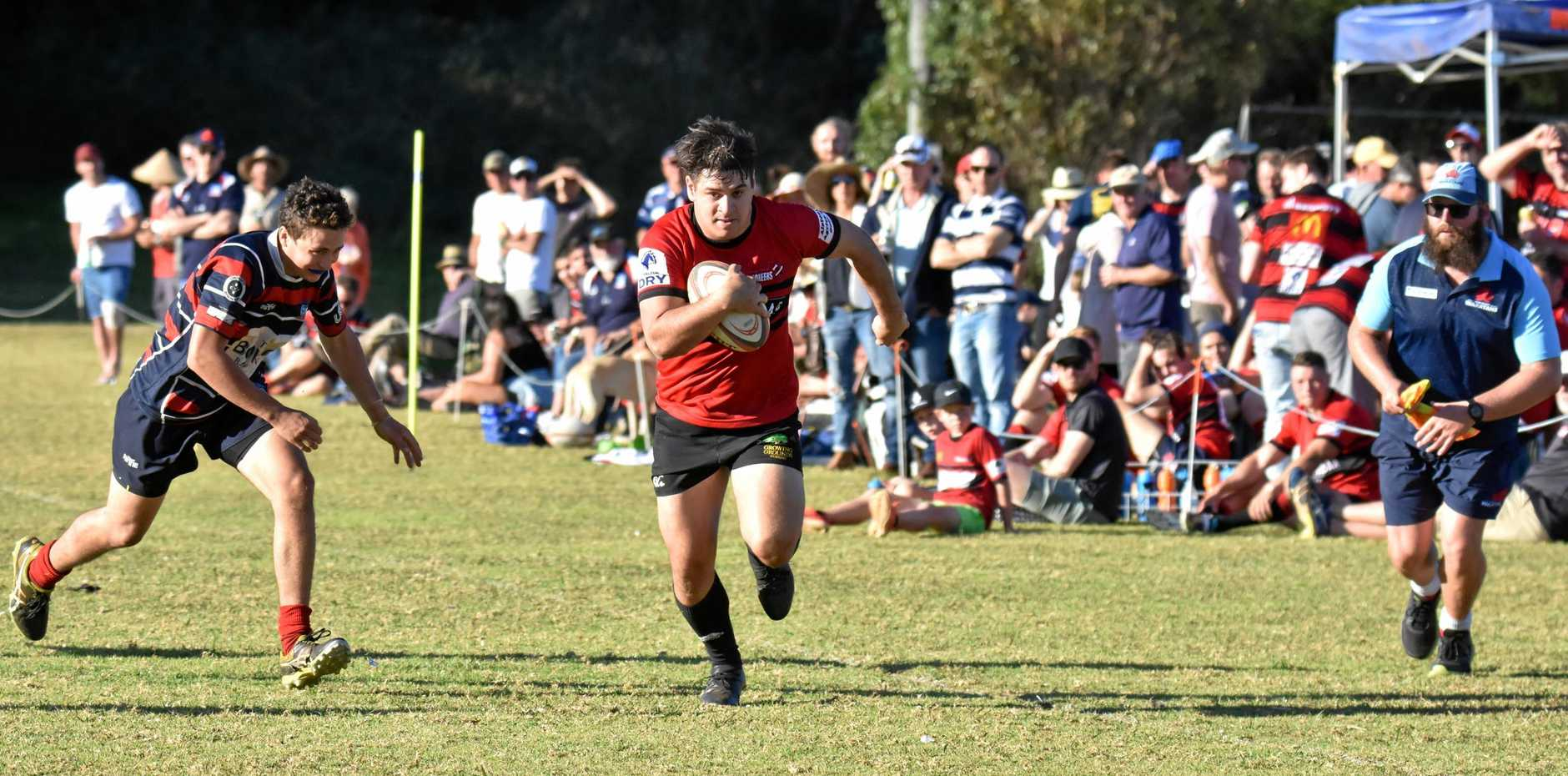 WING AND A PRAYER: Wollongbar-Alstonville winger Daniel Damen is back on deck at the Pioneers.
