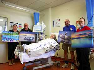 Print-perfect donation for Gladstone kidney sufferers