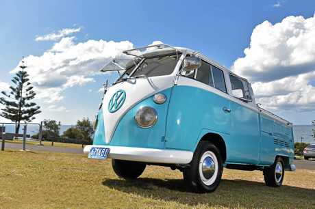 Jason New imported this 1967 Kombi Dual Cab from California.
