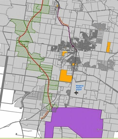 RAIL LINE: More than 170 different landholders will be directly impacted by the coal rail line route proposed by Moreton Resources.