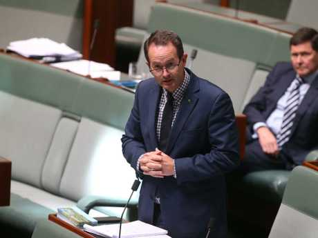 Andrew Wallace had been subject of speculation that they supported Mr Dutton, but they said this was only speculation.