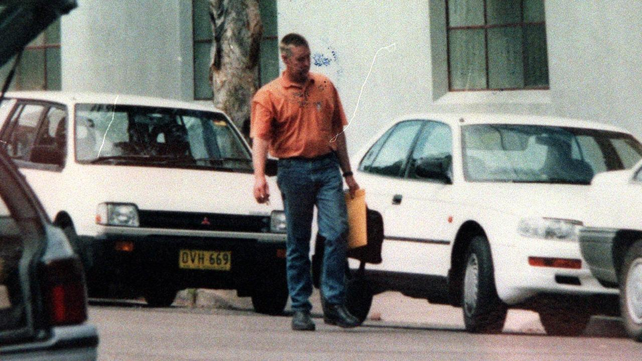 A police surveillance photo of Kay from 1997.