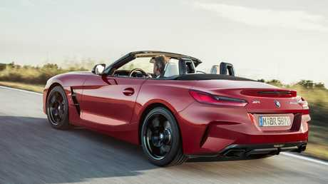 Twin under the skin: 2019 BMW Z4 Roadster's muscular bodywork cloaks running gear that is shared with the coming cult favourite Toyota Supra.