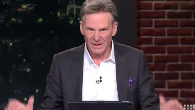 Footy Show co-host Sam Newman has again managed to offend.