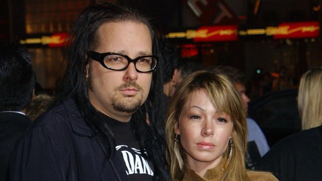 Jonathan and Deven Davis. Picture: DeGuire/WireImage