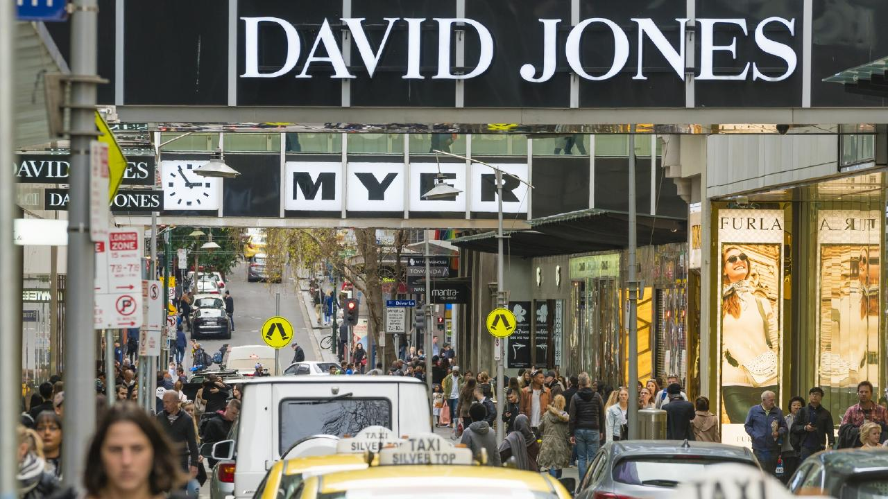 David Jones will rip out its Country Road brands fro Myer stores.
