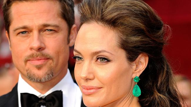 Brad Pitt and Angelina Jolie have hit something of a truce in their bitter divorce proceedings. Picture: Getty Images