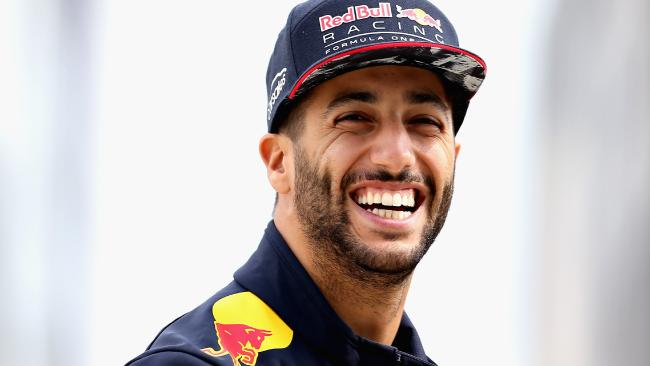Daniel Ricciardo is content with the decision he's made.