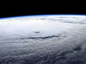 Terrifying images of Hawaii hurricane from space