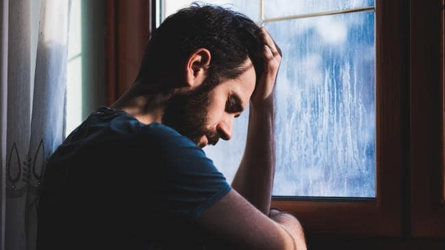 Men are just as plagued by worry as women. (Pic: iStock)
