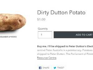 Aussies urged to send Dutton a dirty potato