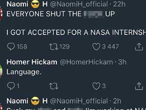 Tweet costs woman NASA internship