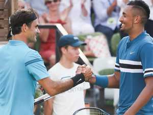 Legend stands in way of Kyrgios
