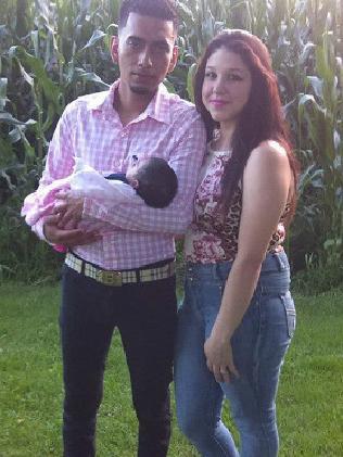 Cristhian Bahena Rivera with Iris Monarrez.