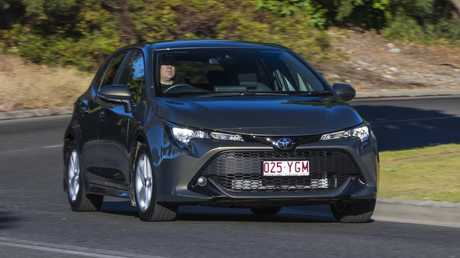 The new Toyota Corolla is loaded with standard safety tech but its price has risen dramatically. Picture: Mark Bean.