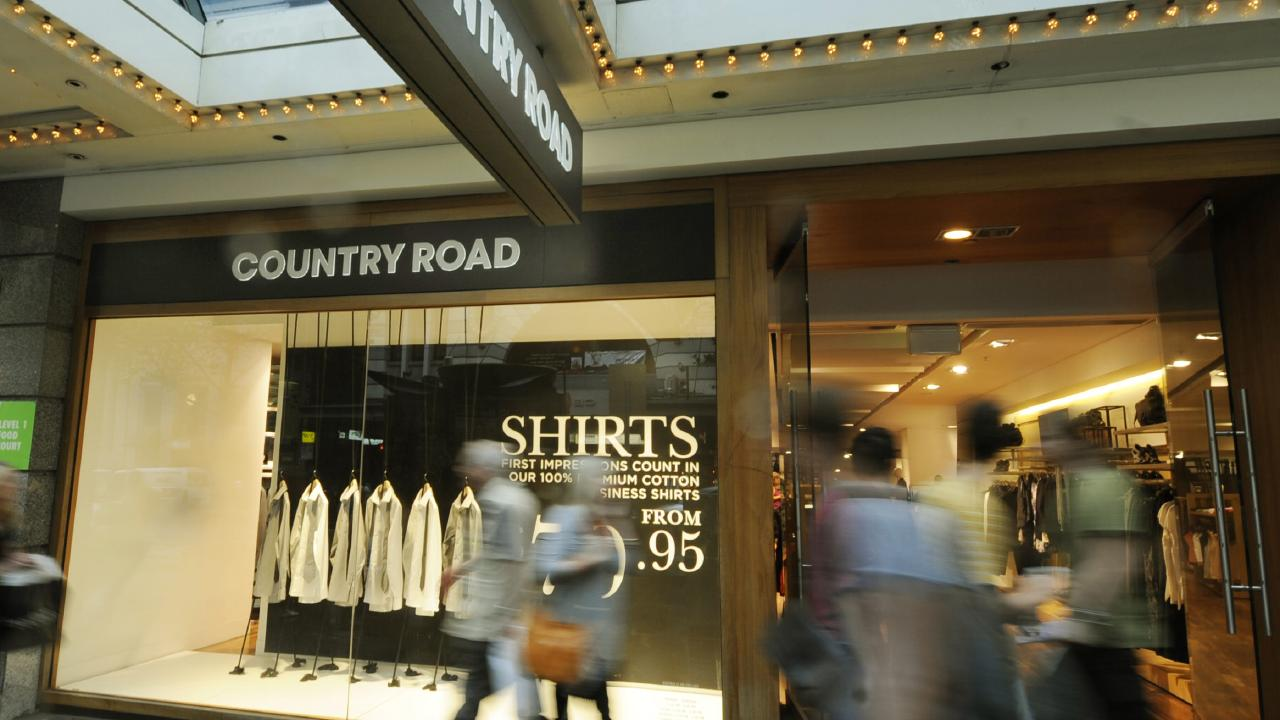 The removal of the Country Road brands will leave a hole in Myer's fashion departments.