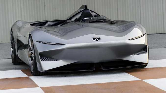 Nissan's luxury brand Infiniti has unveiled a wild-looking electric vehicle at this year's Pebble Beach classic car show. Picture: Supplied.