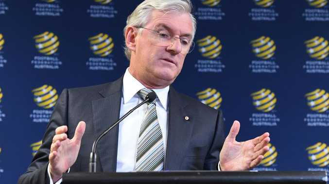 FFA chairman Steven Lowy is set to step down in November. Picture: AAP
