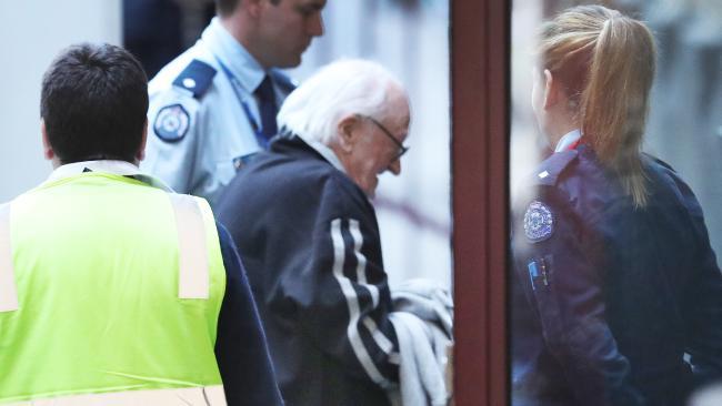 Albert Tedford was jailed for nine years on Friday. Picture: David Crosling/AAP