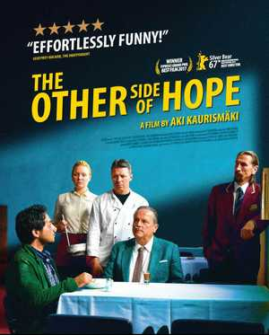 Eltham Film Night will screen the compassionate Finnish film, The Other Side of Hope, 22nd September at Eltham Hall. Meal & movie available at 6pm. Ph 6629 1131