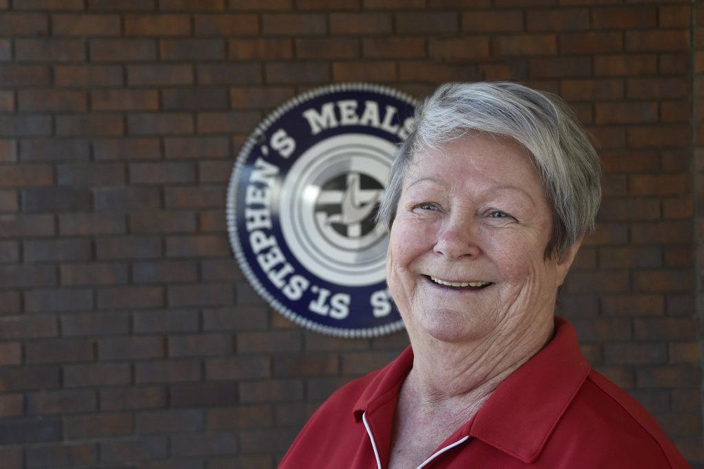 Meals on Wheels volunteer Vicky Webb.