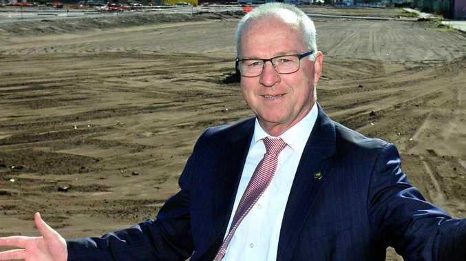 GO LIGHTNING: Sunshine Coast Mayor Mark Jamieson.