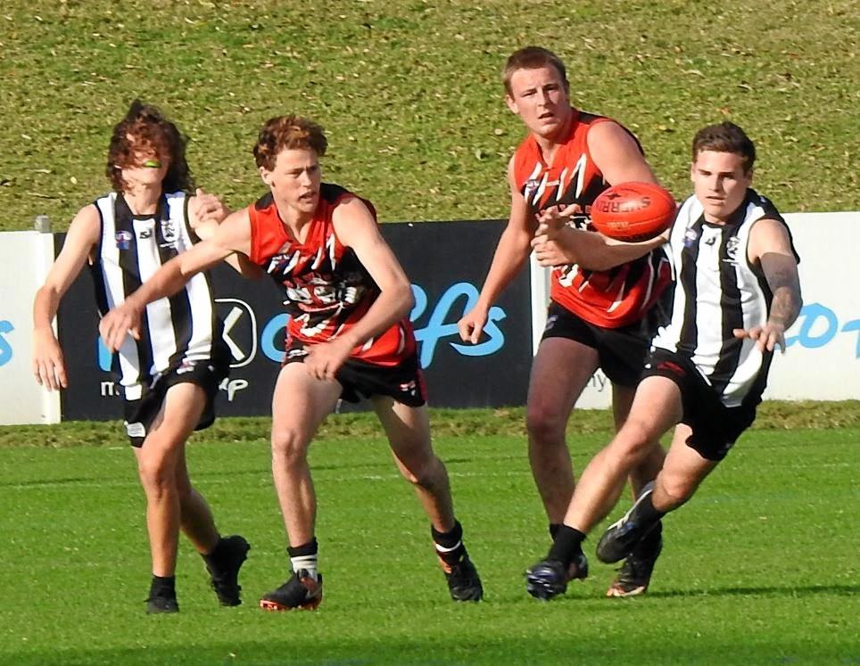 FORWARD STEP: Saints eliminated Port Magpies and get another crack at Breakers in a week..